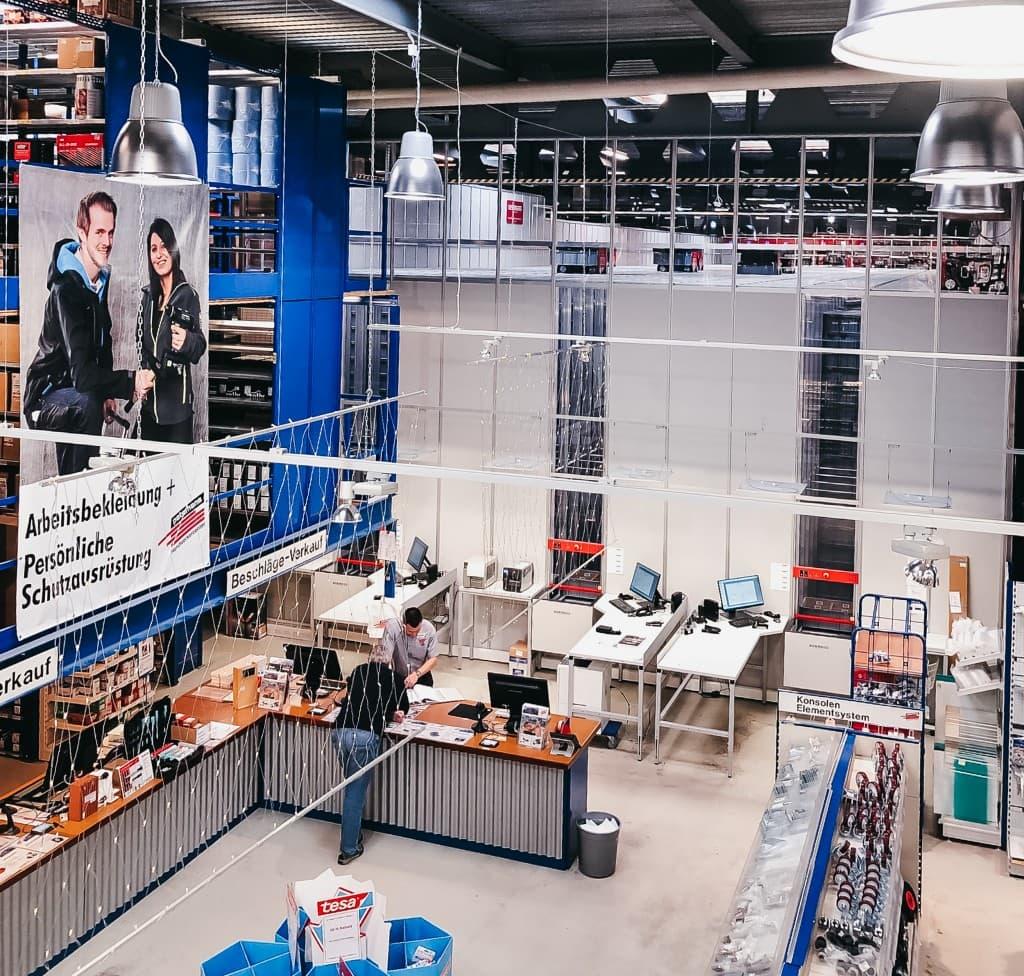 Magazyny Peterhans z robotami AutoStore