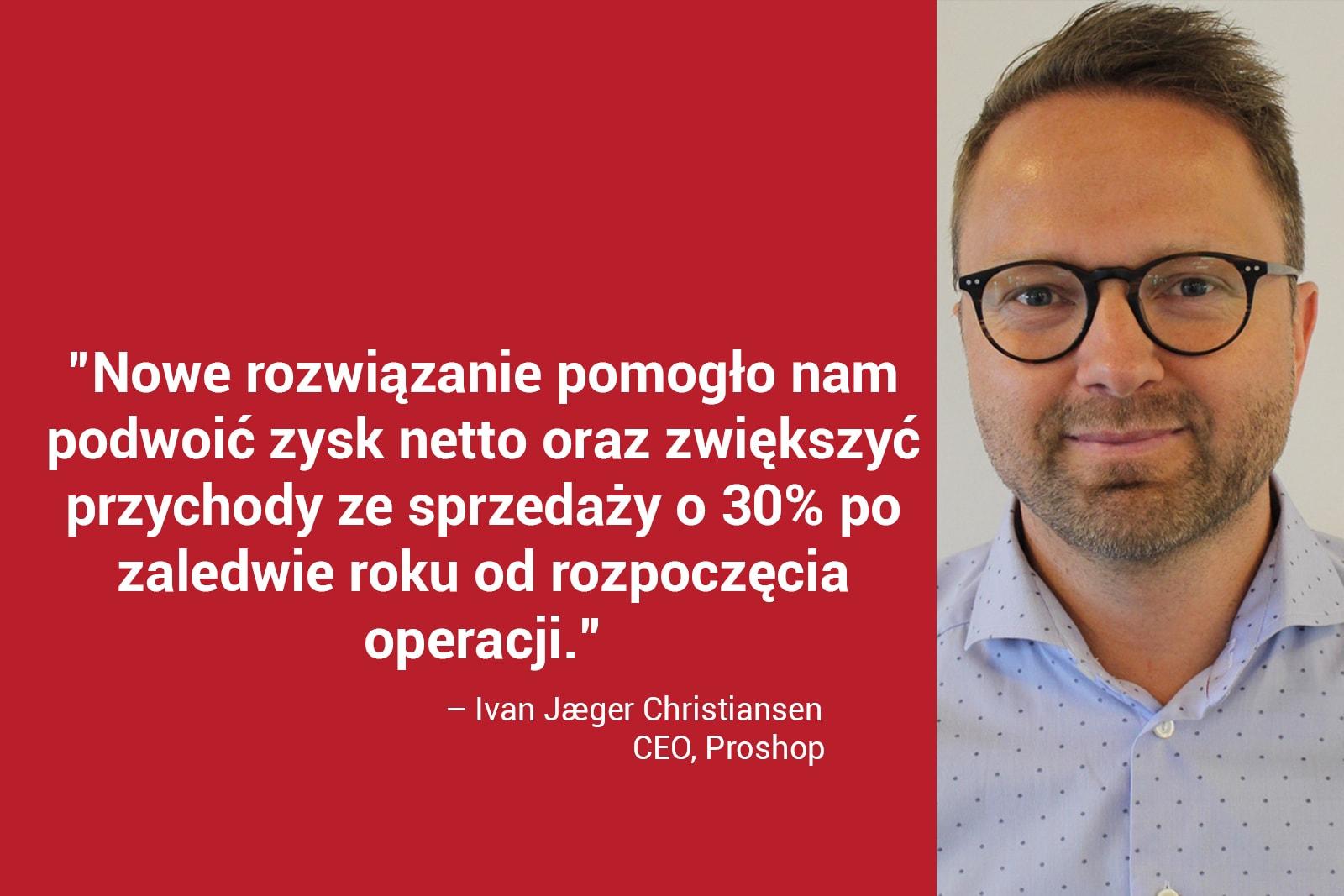 Jaeger Christiansen, CEO Proshop