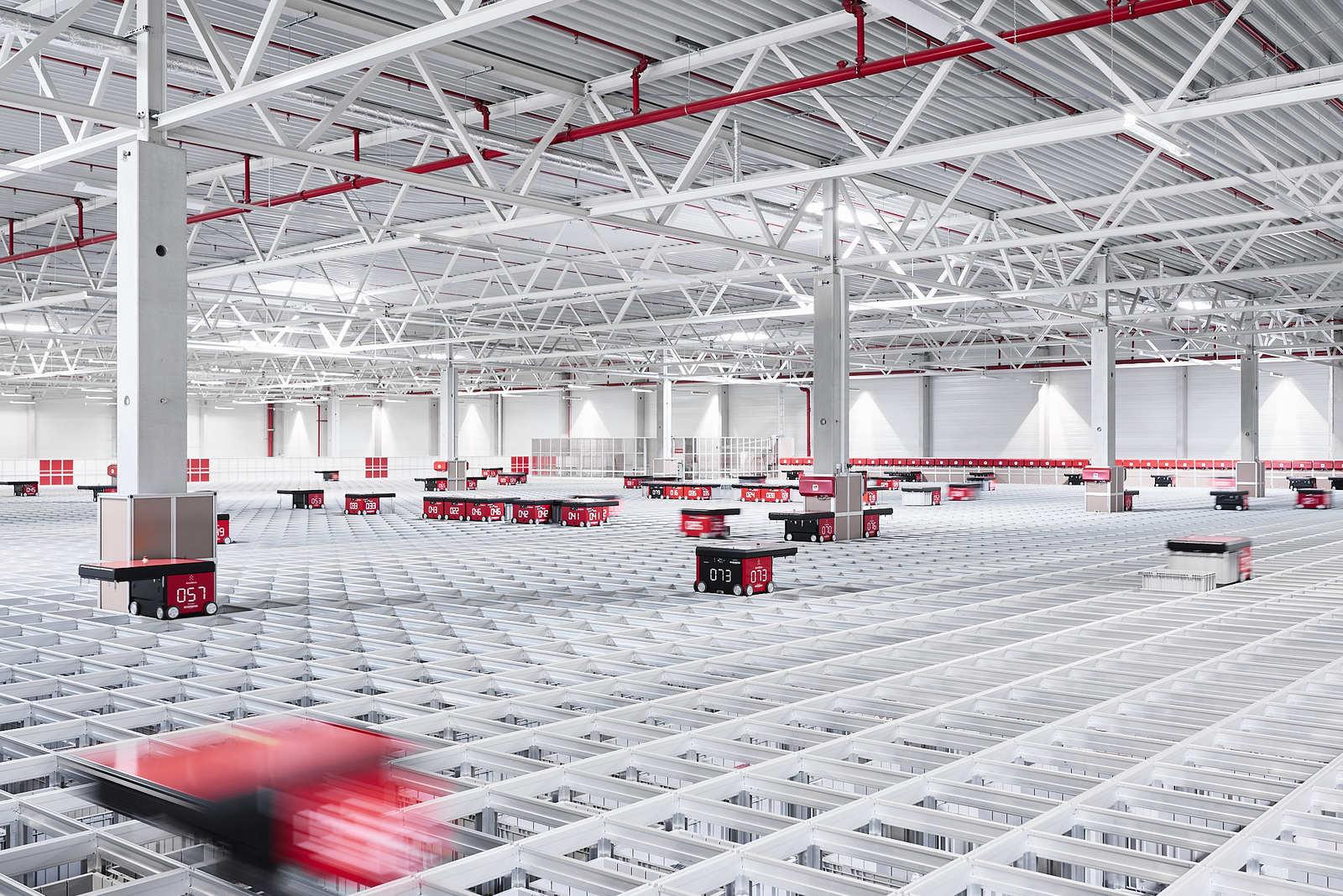 Rozbudowa systemu AutoStore w Bergfreunde